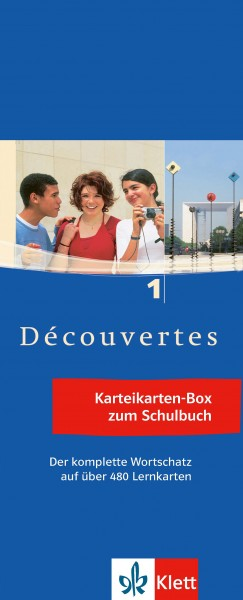 Découvertes 1 - Vokabel-Lernbox zum Schülerbuch