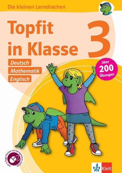 Klett Topfit in Klasse 3 - Deutsch, Mathematik und Englisch