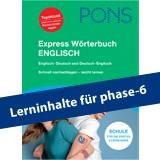 Präpositionen üben mit dem PONS Express Wörterbuch Englisch