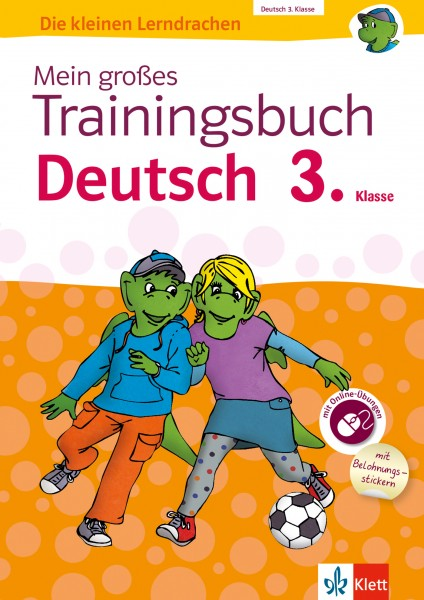 Klett Mein großes Trainingsbuch Deutsch 3. Klasse