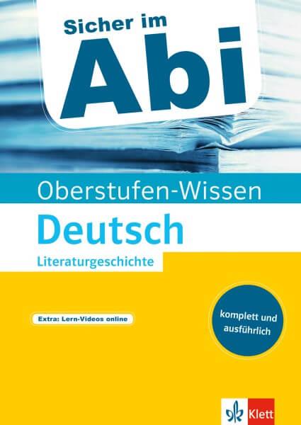Klett Sicher im Abi Oberstufen-Wissen Deutsch - Literaturgeschichte