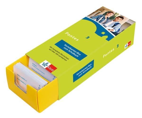 Pontes 3 - Vokabel-Lernbox zum Schulbuch