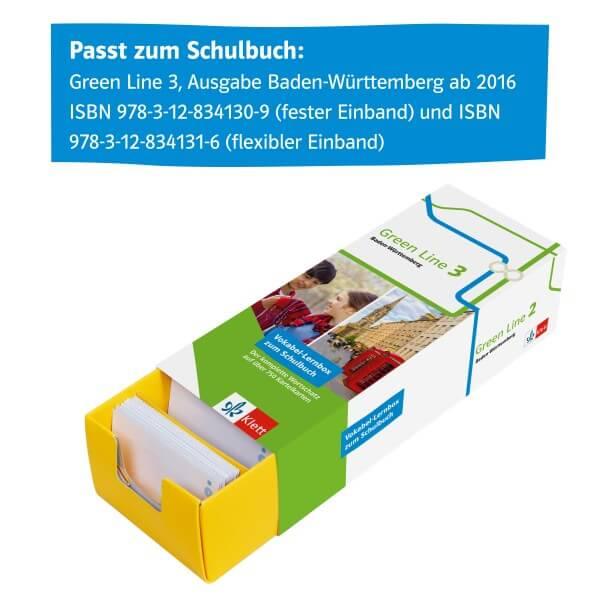 Green Line 3 Baden-Württemberg Klasse 7 Vokabel-Lernbox zum Schulbuch