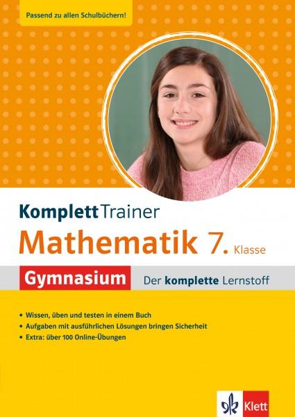 Klett KomplettTrainer Gymnasium Mathematik 7. Klasse