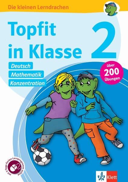 Klett Topfit in Klasse 2 - Deutsch, Mathematik und Konzentration