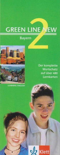 GREEN LINE NEW BAYERN 2 - VOKABEL-LERNBOX ZUM SCHÜLERBUCH