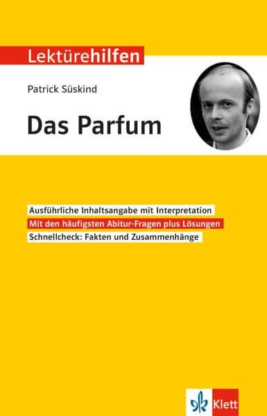 Klett Lektürehilfen Patrick Süskind, Das Parfum