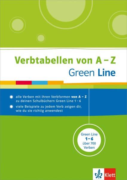 Green Line - Verbtabellen von A - Z