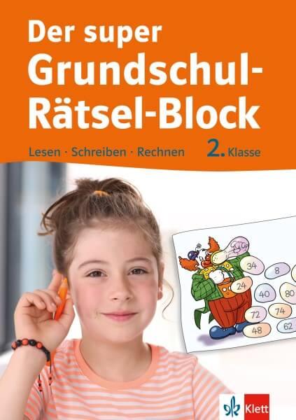 Klett Der super Grundschul-Rätsel-Block