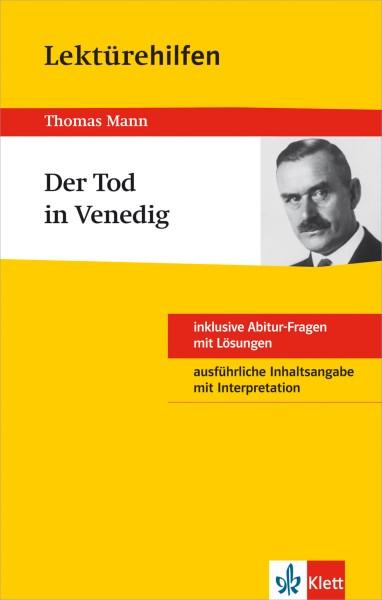 Klett Lektürehilfen Thomas Mann, Der Tod in Venedig