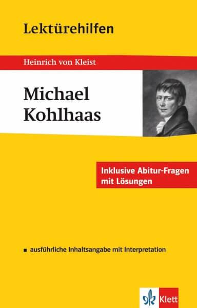 Klett Lektürehilfen Heinrich von Kleist, Michael Kohlhaas