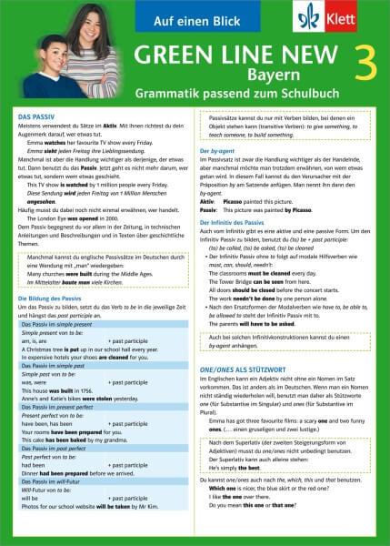 Green Line New Bayern 3 - Auf einen Blick
