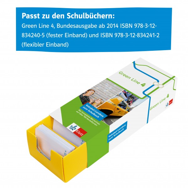 Green Line 4 G8 Klasse 8 Vokabel-Lernbox zum Schulbuch