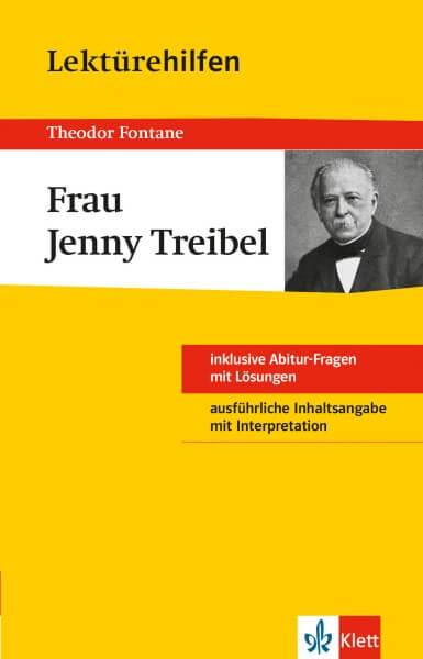 Klett Lektürehilfen Theodor Fontane, Frau Jenny Treibel