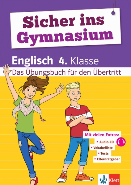 Klett Sicher ins Gymnasium Englisch 4. Klasse