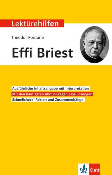 Klett Lektürehilfen Theodor Fontane, Effi Briest