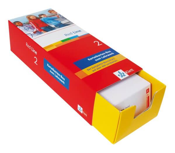 Red Line 2 - Vokabel-Lernbox zum Schülerbuch