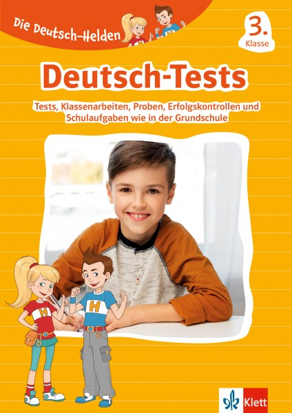 Klett Die Deutsch-Helden: Deutsch-Tests 3. Klasse