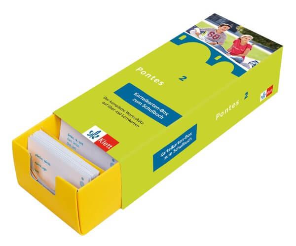 Pontes 2 - Vokabel-Lernbox zum Schulbuch