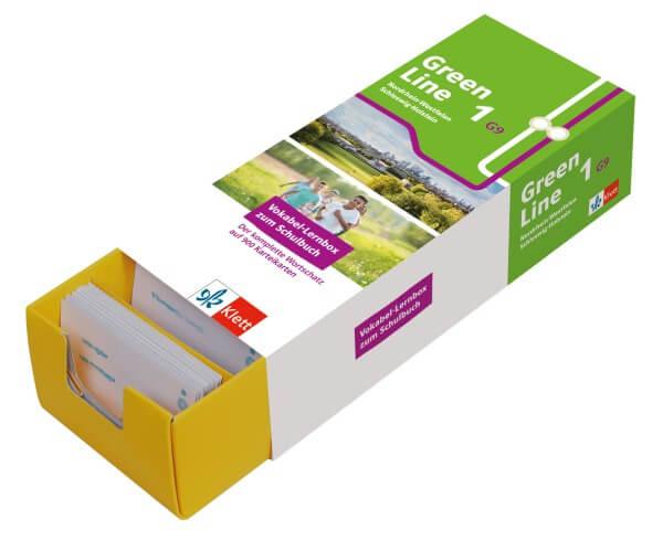 Klett Green Line 1 G9 (Ausgabe ab 2019) Klasse 5 Vokabel-Lernbox zum Schulbuch