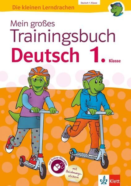 Klett Mein großes Trainingsbuch Deutsch 1. Klasse