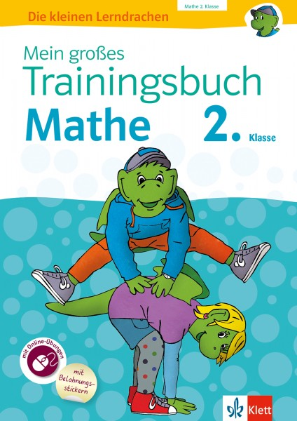 Klett Mein großes Trainingsbuch Mathematik 2. Klasse