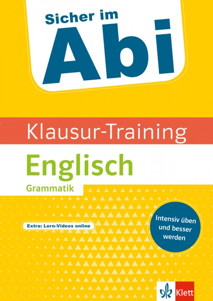 Klett Sicher im Abi Klausur-Training - Englisch Grammatik