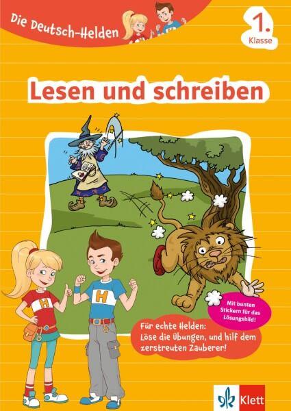 Klett Die Deutsch-Helden Lesen und schreiben 1. Klasse