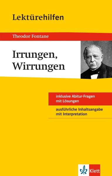 Klett Lektürehilfen Theodor Fontane, Irrungen, Wirrungen
