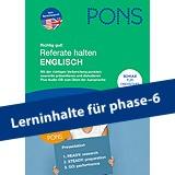 PONS Referate halten Englisch: Redewendungen & Wortschatz - mit Audio