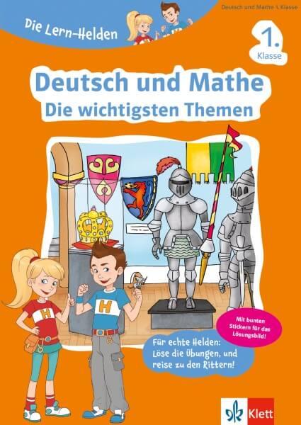 Klett Die Lern-Helden Deutsch und Mathe - Die wichtigsten Themen 1. Klasse