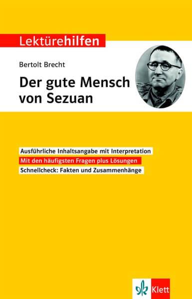 Klett Lektürehilfen Bertolt Brecht, Der gute Mensch von Sezuan