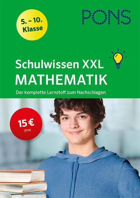 pons schulwissen xxl mathematik 510 klasse  pons