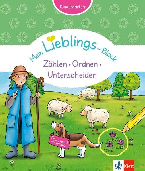Klett Mein Lieblings-Block Zählen, Ordnen, Unterscheiden