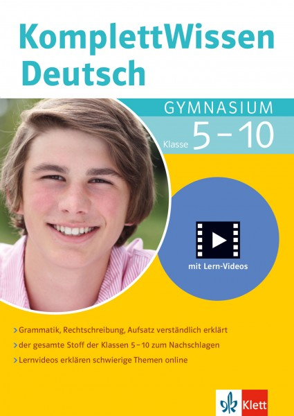 Klett KomplettWissen Deutsch Gymnasium