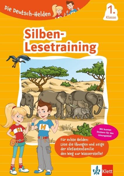Klett Die Deutsch-Helden: Silben-Lesetraining 1. Klasse