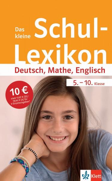 Klett Das kleine Schul-Lexikon Deutsch, Mathe, Englisch 5.-10. Klasse