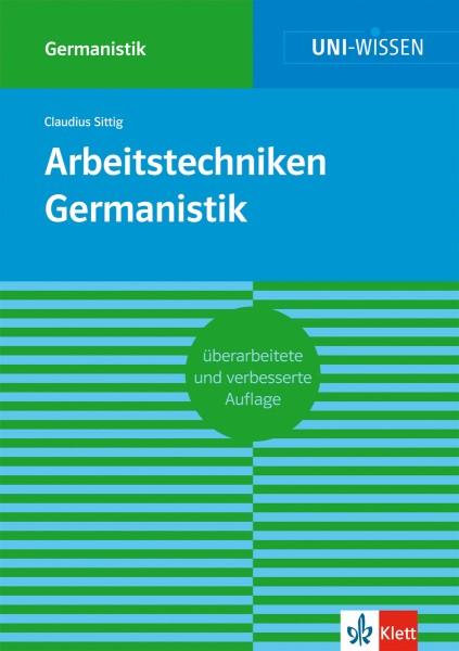 Klett Uni Wissen Arbeitstechniken Germanistik