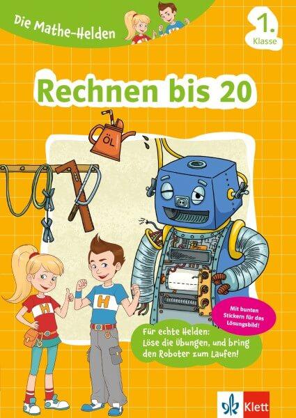 Klett Die Mathe-Helden Rechnen bis 20, 1. Klasse