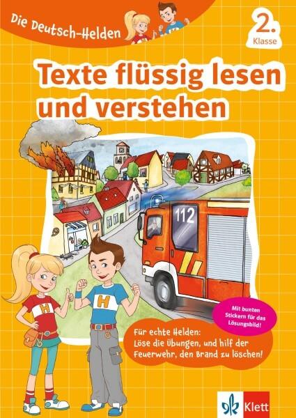 Klett Die Deutsch-Helden Texte flüssig lesen und verstehen 2. Klasse