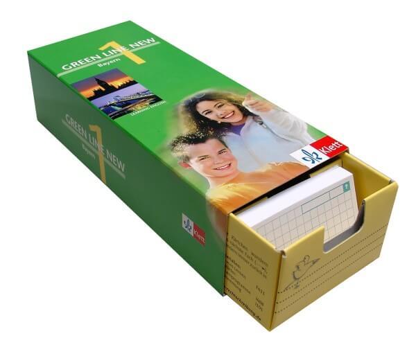 Green Line New Bayern 1 - Vokabel-Lernbox zum Schülerbuch