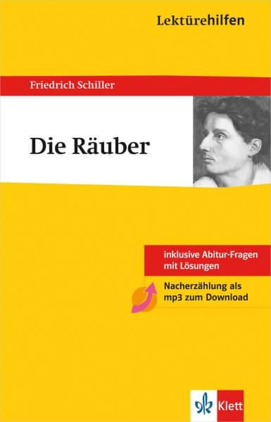 Klett Lektürehilfen Friedrich Schiller, Die Räuber