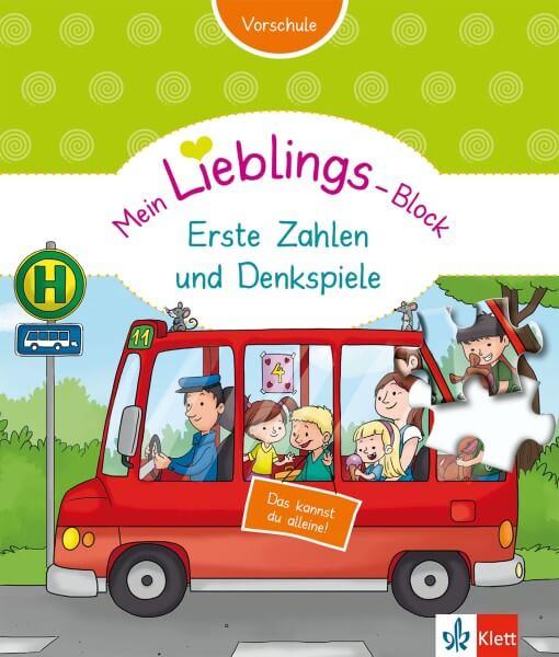 Klett Mein Lieblings-Block Erste Zahlen und Denkspiele