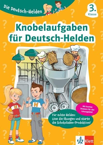 Klett Die Deutsch-Helden Knobelaufgaben für Deutsch-Helden 3. Klasse