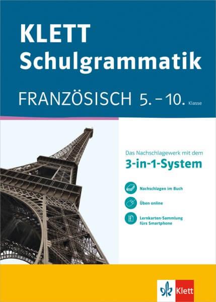 KLETT Schulgrammatik Französisch 5.-10. Klasse