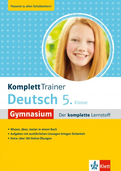 Klett KomplettTrainer Gymnasium Deutsch 5. Klasse