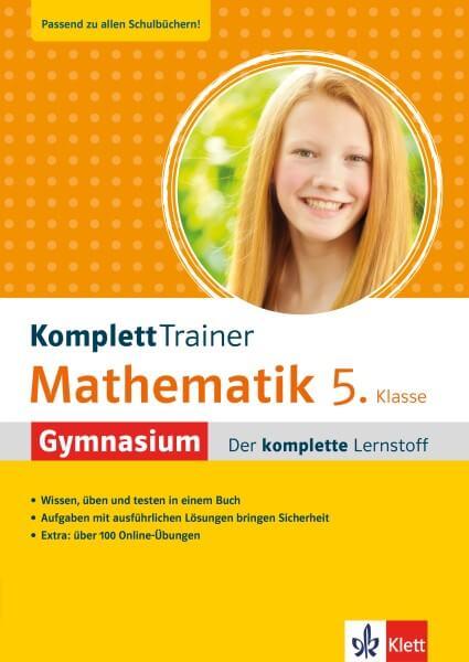 Klett KomplettTrainer Gymnasium Mathematik 5. Klasse