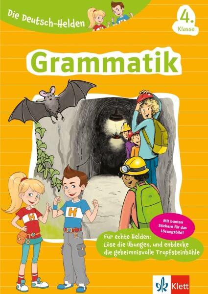 Klett Die Deutsch-Helden Grammatik 4. Klasse